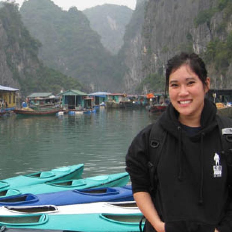 Mychelle P in Vietnam